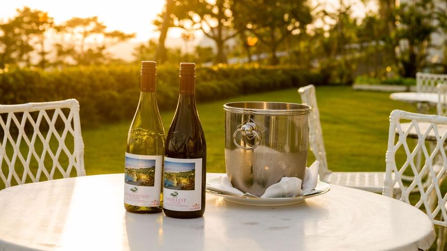 【ハウスワイン(赤/白)】ハウスワインのご手配も承っております。(有料)