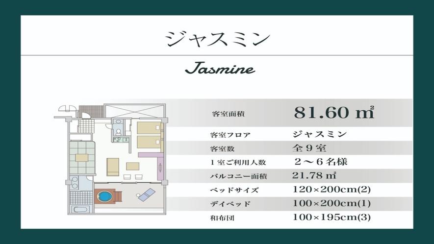 【ジャスミン/81.60平米】ジャスミン棟(間取り図)