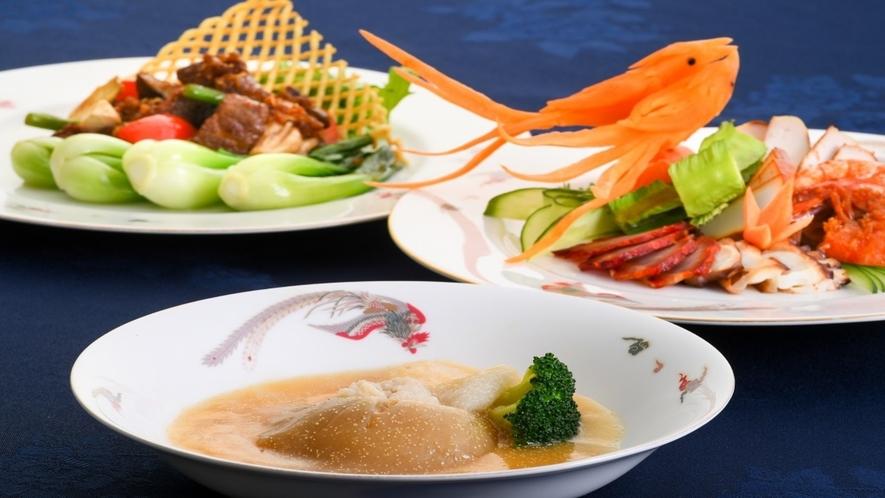 【中華】やんばるでとれた新鮮食材を使ったカヌチャ流中華です。