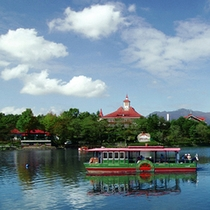 アルパカとふれあえる観光スポット りんどう湖ファミリー牧場。