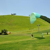 【神鍋高原】夏はパラグライダー、ゴルフ!冬はスキー場がオープン(当館より車で約65分)