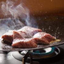 [夕食]豊後牛鍬焼き