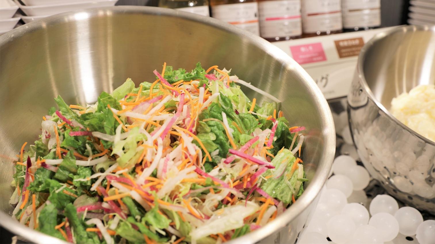 【Organic】有機JAS認定の野菜を使用したサラダはビタミンCやミネラルが豊富