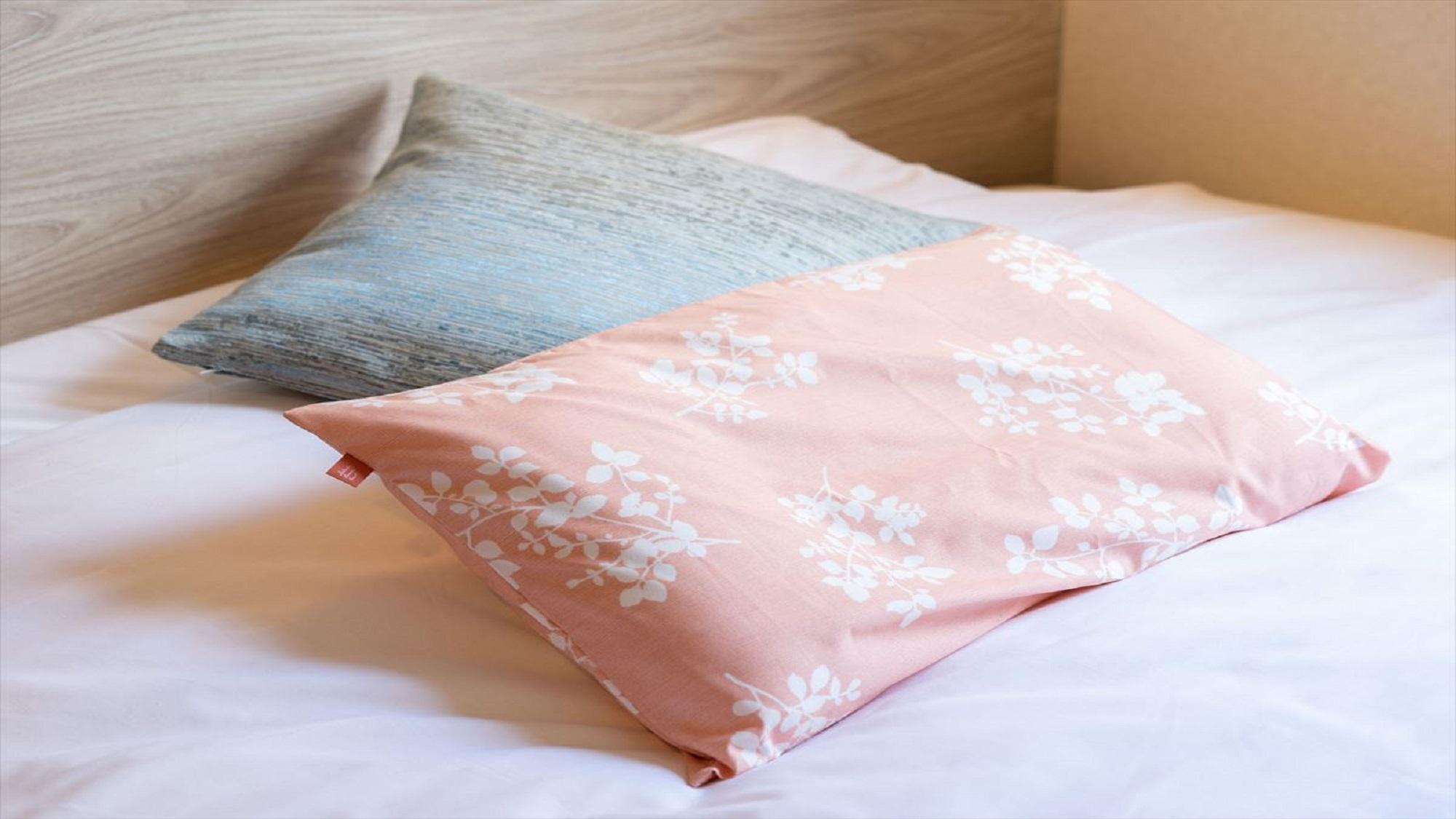 【Smart・貸出枕・数量限定・女性限定】女性のお身体に合った柔らかい枕でございます♪