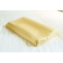 【低反発枕の黄色】ほどよい硬さと高さです♪初めての方はまずはお試しください