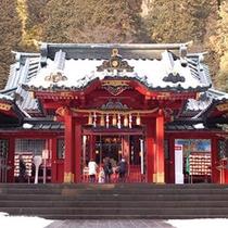 箱根神社参拝