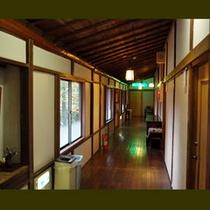 吉昇亭 2階廊下