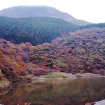 精進池と駒ヶ岳