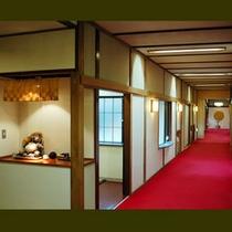 吉昇亭 1階廊下