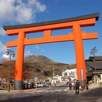 箱根神社 一の鳥居