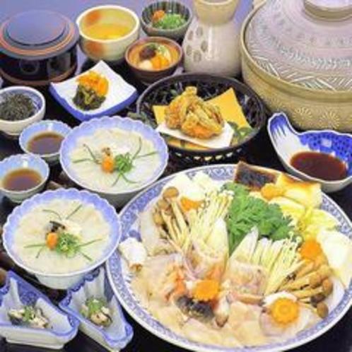 冬限定お鍋料理◆てっちりコース◆