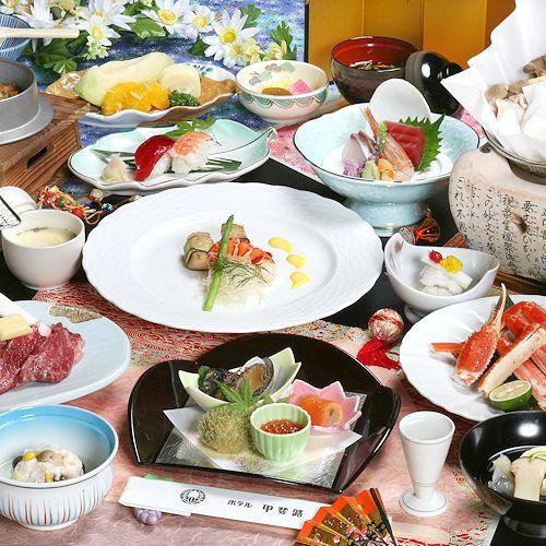 お食事重視派も大満足の<満月>コース(イメージ)