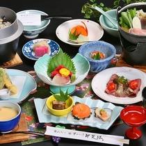 甲州名物ほうとう鍋などを中心とした<和洋会席>(イメージ)