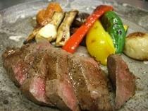 ディナーお肉料理 伊豆牛のタリアータ