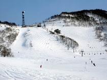 わかぶな高原スキー場 上級者コース