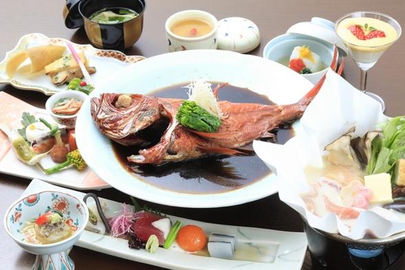 【金目鯛姿煮orにぎり寿司】選べる海鮮グルメ会席