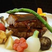 チョイスプラン「豚のあぶり焼き」