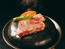 チョイスプラン(和牛の温石焼)