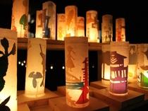 夏のイベント・修善寺キャンドルナイト