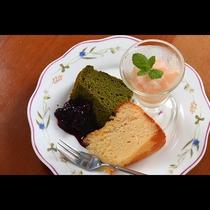 単品イメージ◆旬のフルーツを使ったソルベとデザートの盛り合わせ