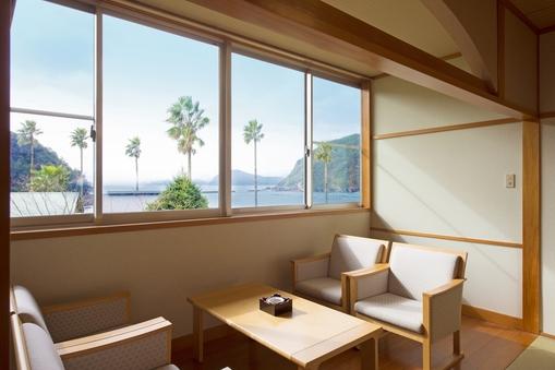 【本館】海の見えるセミスイートルーム 和洋室
