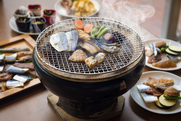 【三大味覚プラン】人気会席!伊勢海老・黒鮑・松阪牛