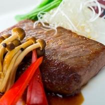 【追加料理】地域ブランド牛 熊野牛のロースステーキ ※イメージ