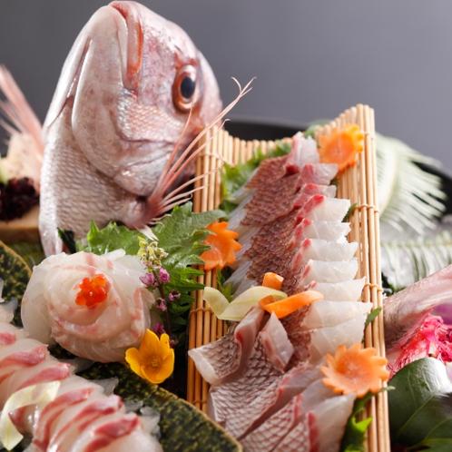 【追加料理】鯛の姿造り ※イメージ