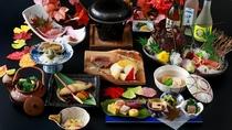 【三大味覚】伊勢海老・鮑・黒毛和牛を季節に合わせた調理法でおもてなし ※2020秋料理イメージ