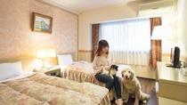 【メゾネットルーム】ベッドルーム