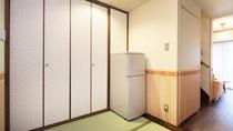 【メゾネットルーム】和室3畳のスペース