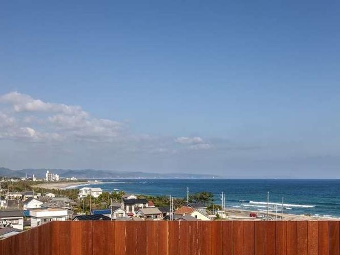 2016年オープンの海が見える屋上貸切露天風呂