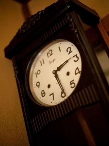 廊下の古時計