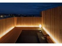 11月1日オープンの屋上露天風呂