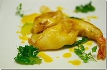 北海道の魚介類のベニエ