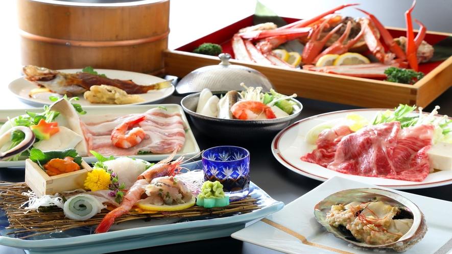 【TV放映プラン】日本海三昧プラン+当館名物『わっぱ煮』サービス♪(一例)