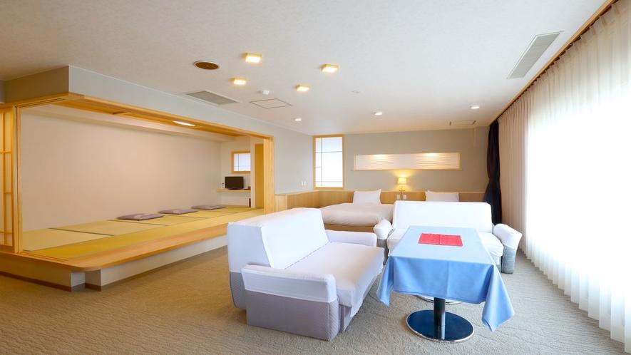 【リノベーション特別室】小上がり和室もございますので、旅館ならではの寛ぎも♪(一例)