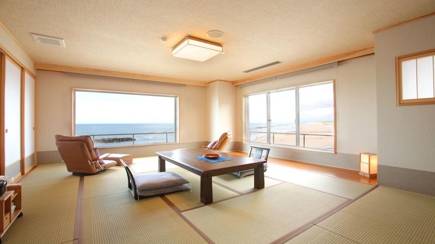 海を眺め癒しのスロー時間を♪(特別室例)