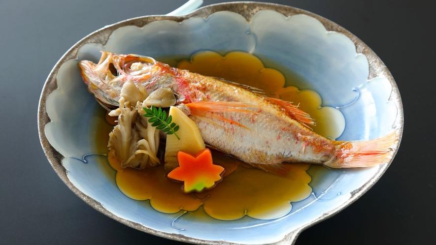 その日仕入れの煮魚(一例)
