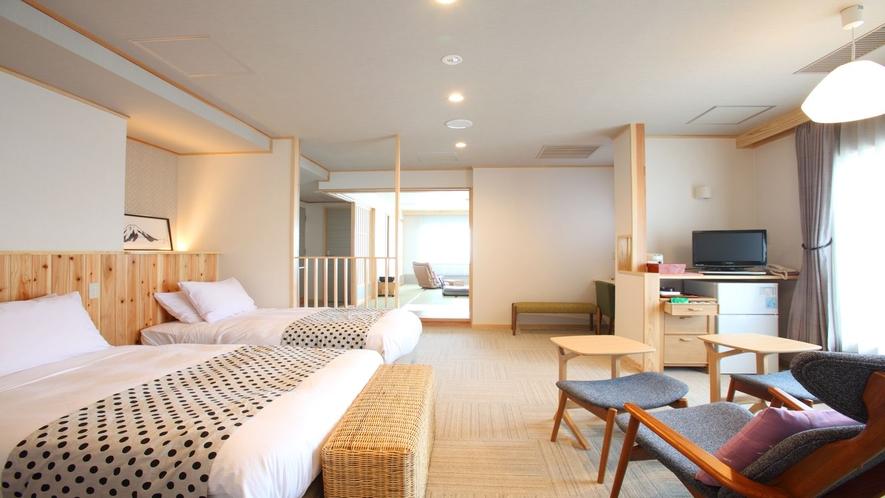 特別室は和室+ベッドルーム付♪(例)