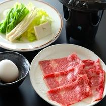 山形牛のすき焼き(一例)