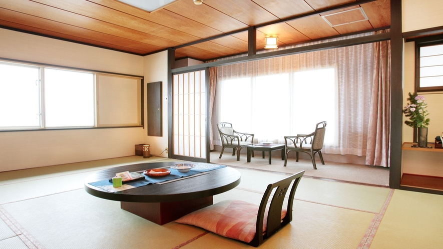 和室12畳タイプ客室(一例)