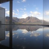 温泉からの眺望