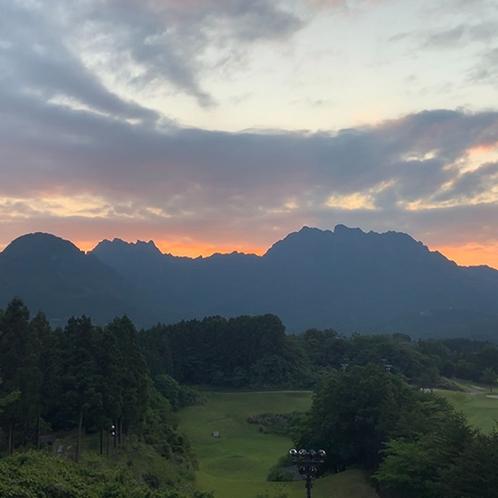 妙義山 夕焼けver.