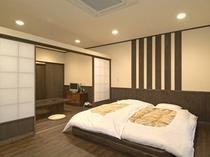【露天風呂付客室】有明-寝室