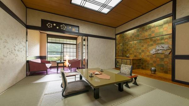 ■木の館■-スタンダード-【禁煙】和室10+6畳/会食場食