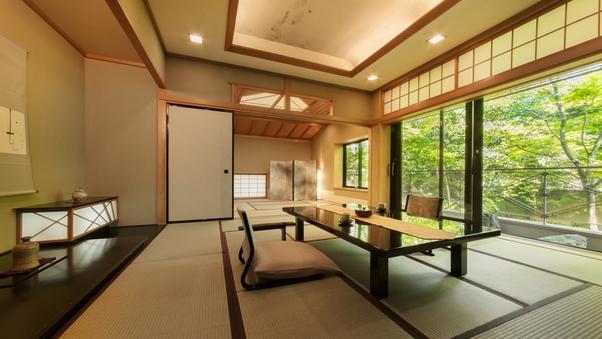 ◆木心亭◆-スタンダード-【禁煙】12.5+10畳/お部屋食