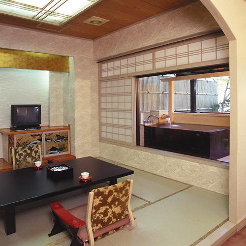木の館露天付 客室一例