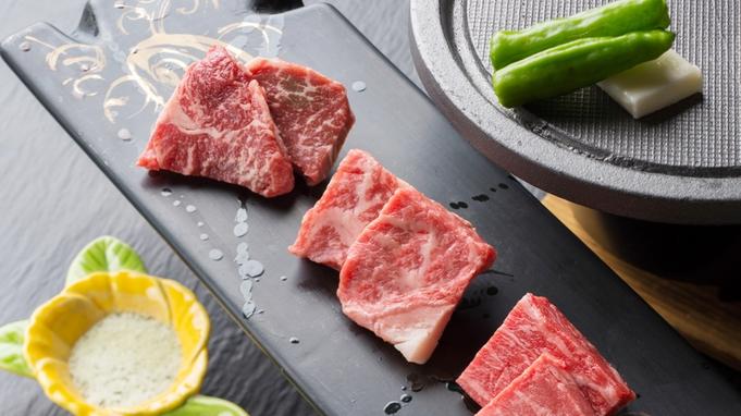 【とちぎ和牛-美樹plus】お肉好きには堪らない♪<すき焼き×陶板焼食べ比べ×牛握り>をお部屋食にて