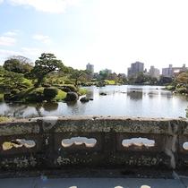 *【周辺】水前寺公園 石橋からの景色♪